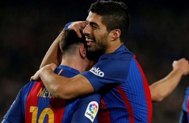 Kasus Lionel Messi, Luis Suarez Kritik Barcelona