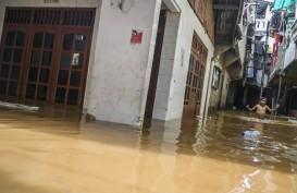 Hujan Deras Jakarta: 129 RT Tergenang, Pengungsi 1.333 Orang