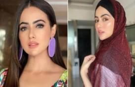 Hijrah, Artis Cantik Sana Khan Pamit dari Bollywood