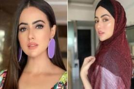 Hijrah, Artis Cantik Sana Khan Pamit dari Bollywood…