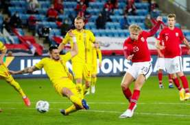 Hasil Nations League: Hattrick Haaland Bawa Norwegia…