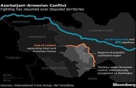 Gencatan Senjata Dilanggar, Saling Serang Pasukan Armenia dan Azerbaijan Berlanjut