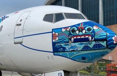 Ini Dia Desain Masker Livery Terbaru di Pesawat Garuda