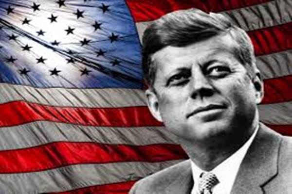 John F. Kennedy. - ilustrasi