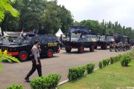 Tangani Demo UU Cipta Kerja dengan Damai, Polisi Kalsel…