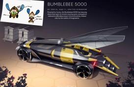 Lucu Banget, Mobil Lebah Desain Anak-anak Ini Menang Lomba Rolls-Royce