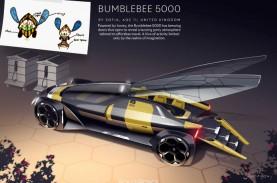 Lucu Banget, Mobil Lebah Desain Anak-anak Ini Menang…