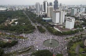 12.000 Personel Gabungan Amankan Demo di Kawasan Istana…