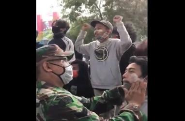 Antisipasi Demo UU Cipta Kerja, TNI-Polri Jaga Objek Vital dan Sentra Ekonomi