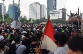 Massa Unjuk Rasa 1310 Bubar, Simpatisan FPI Tenangkan Suasana