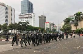 Sempat Ricuh, Usai Massa 3010 Bubar, Massa Berusia Muda Lempari Polisi