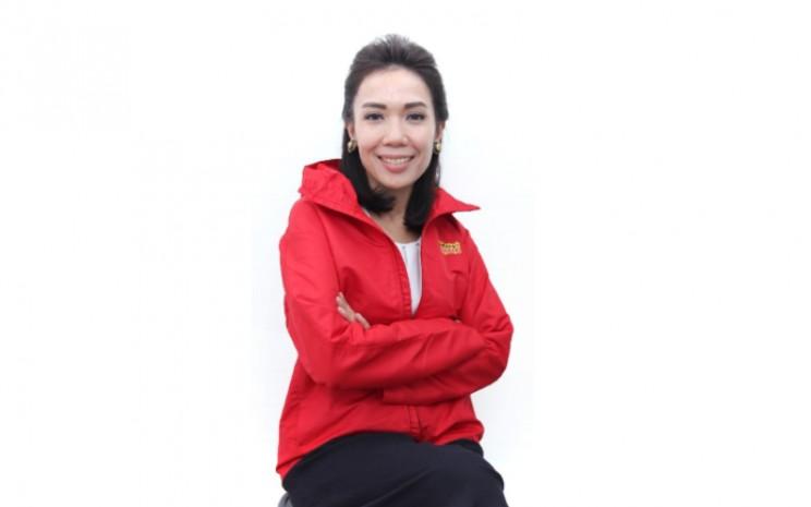 Chief Legal & Regulatory Officer Indosat Natasha Nababan. - Indosat