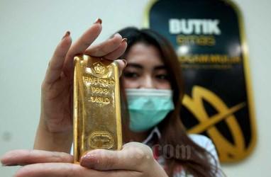 Harga Emas 24 Karat Antam Hari Ini, 14 Oktober Turun Rp8.000