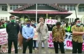 Viral Demonstran UU Cipta Kerja Soraki Ketua DPRD Paser Tak Hafal Pancasila