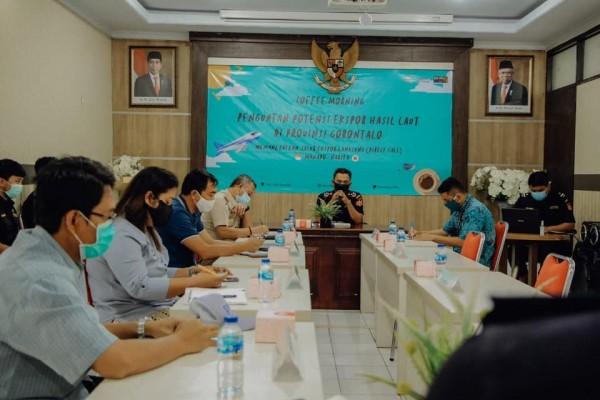 Bea Cukai Upayakan Penguatan Potensi Ekspor Hasil Laut di Gorontalo