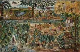 Lukisan Seniman Indonesia Sudjana Kerton Laku Rp15…