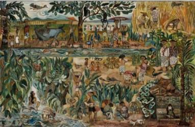 Lukisan Seniman Indonesia Sudjana Kerton Laku Rp15 Miliar di Sothebys Hong Kong