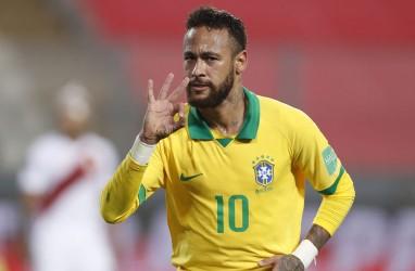 Top Skor Sepanjang Masa Brasil, Neymar Lewati Ronaldo, Dekati Pele