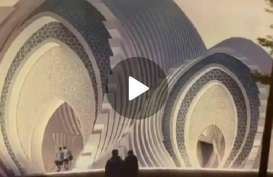 @ridwankamil Rancang Masjid Seribu Bulan Sabit Purwokerto, Groundbreaking Maret 2021