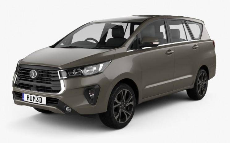 Desain gambar mirip Toyota Innova  - Hum3D.