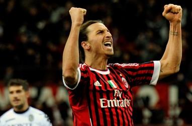 Prediksi Inter vs Milan: Vieri Yakin Ibrahimovic Bakal Main
