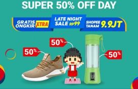 Shopee 11.11 Tawarkan Gratis Ongkir hingga Diskon Belanja 50 Persen