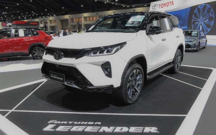 Toyota Fortuner Legender hadir di Bangkok International Motor Show (BIMS) 2020.  - BIMS