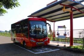 BRT Trans-Jateng Beroperasi di Kawasan Industri Kendal