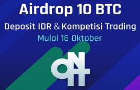 Rayakan Listing ONIT di Pasar Indonesia, Upbit Bagikan Airdrop 10 BTC