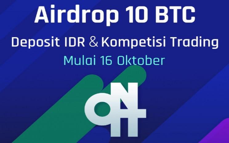 Rayakan Listing Onit Di Pasar Indonesia Upbit Bagikan Airdrop 10 Btc Market Bisnis Com