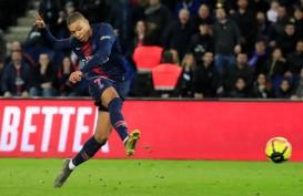 Hasil Liga Prancis : Mbappe 2 Gol, PSG Geser Rennais dari Pucuk Klasemen