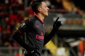 Bos Arsenal Mikel Arteta Beri Waktu Mesut Ozil 2 Bulan