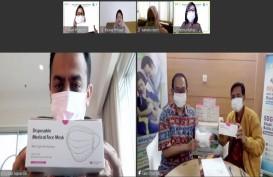 Kemenkes Terima Masker Medis Rp3,8 Miliar dari Reckitt Benckiser