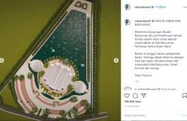 Keren, Masjid Seribu Bulan Sabit Purwokerto Rancangan Ridwan Kamil. Ini Penampakannya