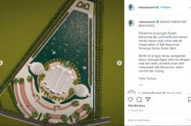 Keren, Masjid Seribu Bulan Sabit Purwokerto Rancangan…