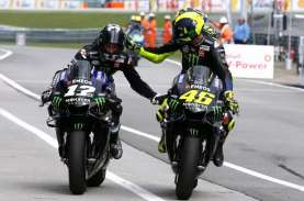 MotoGP Aragon: Vinales Kuasai FP3, Quartararo Jatuh