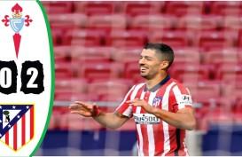 Hasil La Liga Spanyol, Gol Suarez & Carrasco Beri Atletico 3 Poin
