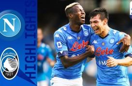 Hasil Liga Italia : Skor 4–1, Napoli Beri Kekalahan Pertama Atalanta