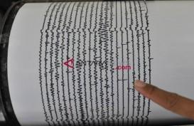 Bengkulu Gempa, Parameter Sementara Magnitudo 5,3