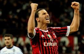 Liga Italia: Dua Gol Ibrahimovic Menangkan Milan dari Inter