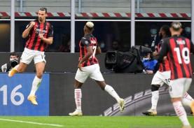 Hasil Liga Italia, Dua Gol Ibrahimovic Antar Milan…