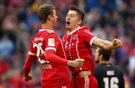 Muller & Lewandowski Antar Munchen Pesta Gol vs Arminia Bielefeld