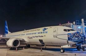 Pesawat Garuda Bermasker Keliling Indonesia, Ini Jadwalnya…