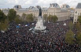 Ribuan Warga Prancis Hadiri Aksi Solidaritas untuk Guru yang Dipenggal
