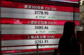 PDB China Naik di Bawah Ekspektasi, Indeks Shanghai…