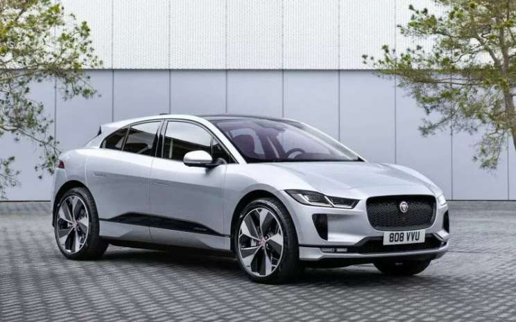 Jaguar I-Pace All Electric.  - Jaguar