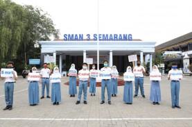 Pelajar Semarang Tolak Demo dan Tindakan Anarkis