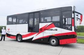 Uji Coba Jalan, Ini Keunggulan Bus Listrik Inka E-Inobus…