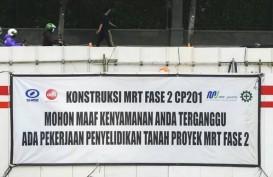 Kontraktor Jepang tak Minati Proyek Fase 2, MRT Surati JICA