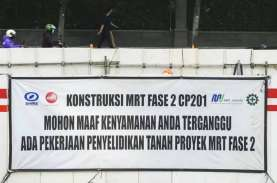 Kontraktor Jepang tak Minati Proyek Fase 2, MRT Surati…
